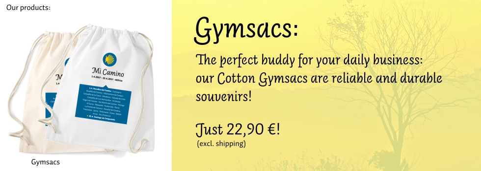 Gymsacs: The perfect buddy for your daily business: our Cotton Gymsacs are reliable and durable souvenirs!
